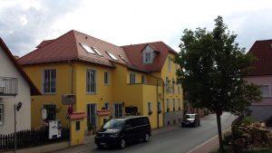 Gasthof Zur Linde in der Hauptstraße 47 am 17. Juni 2018