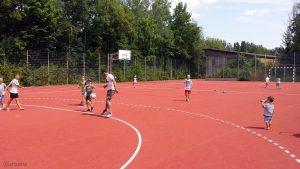 12. Kinder-Olympiade auf der Sport- und Freizeitanlage am 15. Juli 2018