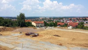 Neubaugebiet Guttenberger Straße am 15. Juli 2018