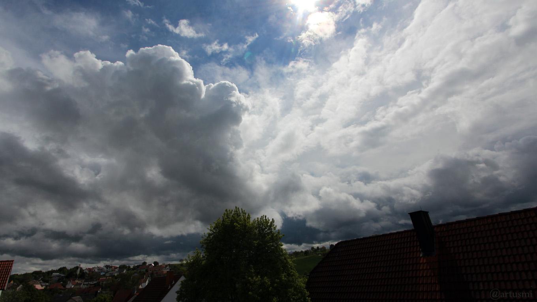 Wetterbild aus Eisingen vom 11. Mai 2019