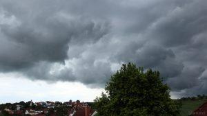 Wetterbild aus Eisingen vom 28. Mai 2019