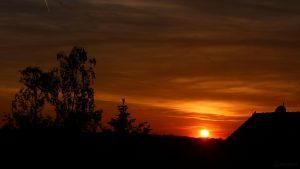 Sonnenuntergang am 31. Mai 2019 um 21:10 Uhr