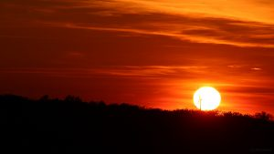 Sonnenuntergang am 31. Mai 2019 um 21:11 Uhr