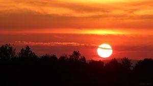 Sonnenuntergang am 16. Juli 2019 um 21:15 Uhr