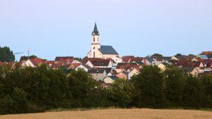 Kist bei Würzburg am 16. Juli 2019 um 21:17 Uhr
