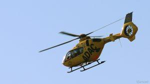 Rettungshubschrauber Christoph 18 am 23. August 2019 um 08:53 Uhr über Eisingen