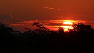 Sonnenuntergang am 31. August 2019 um 19:59 Uhr