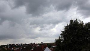 Wetterbild aus Eisingen vom 8. September 2019 um 17:52 Uhr