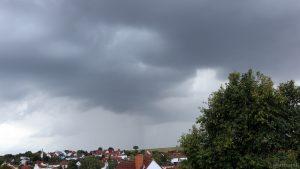 Wetterbild aus Eisingen vom 8. September 2019 um 18:25 Uhr
