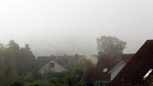 Erster Herbstnebel in Eisingen am 10. September 2019 um 10:06 Uhr