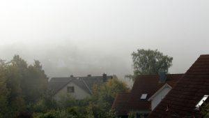 Erster Herbstnebel in Eisingen am 10. September 2019 um 10:11 Uhr