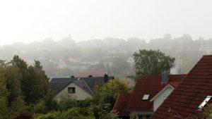 Erster Herbstnebel in Eisingen am 10. September 2019 um 10:28 Uhr