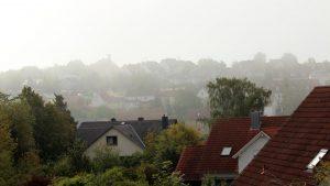 Erster Herbstnebel in Eisingen am 10. September 2019 um 10:29 Uhr