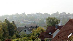 Erster Herbstnebel in Eisingen am 10. September 2019 um 10:36 Uhr