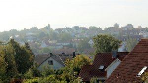 Erster Herbstnebel in Eisingen am 10. September 2019 um 10:43 Uhr