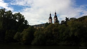 Kloster Oberzell bei Würzburg am 12. September 2019