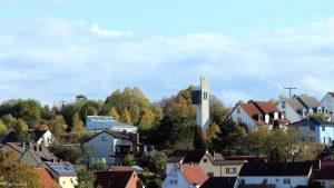 Wetterbild aus Eisingen vom 10. Oktober 2019 um 16:15 Uhr