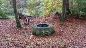 Köhlerbrunnen im Probstforst bei Waldbrunn am 30. Oktober 2019