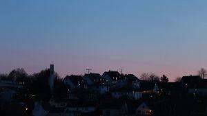 Wetterbild aus Eisingen vom 28. Dezember 2019 um 16:50 Uhr