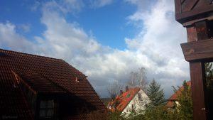 "Orkantief ""Sabine"" am 10. Februar 2020 um 10:07 Uhr über Eisingen"