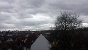 Wetterbild aus Eisingen vom 23. Februar 2020 um 14:49 Uhr