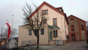 Rathaus Eisingen am 20. März 2020