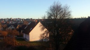 Wetterbild aus Eisingen vom 22. März 2020 um 18:11 Uhr