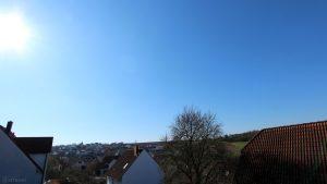 Wetterbild aus Eisingen vom 25. März 2020 um 09:52 Uhr