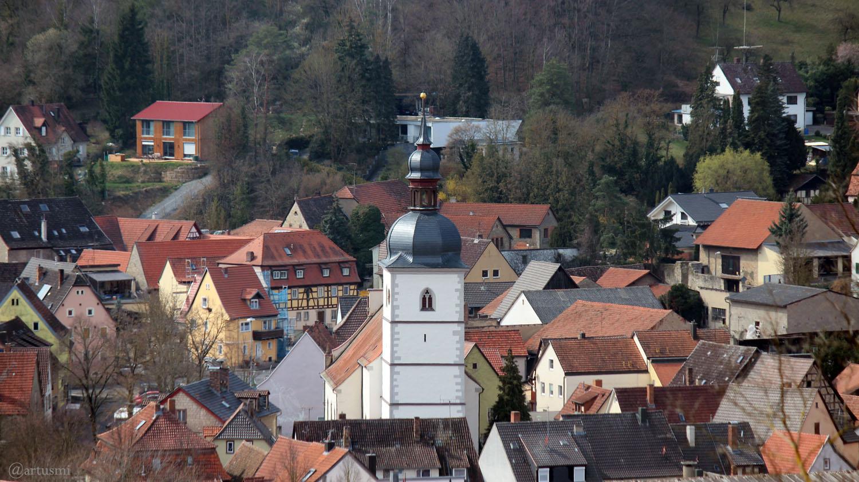 Goßmannsdorf am Main am 26. März 2020