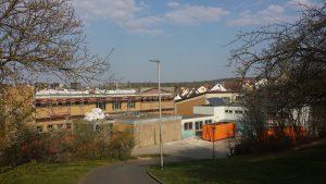 Sanierung der Grundschule Eisingen-Waldbrunn am 9. April 2020