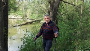 Wanderung mit Artur am 14. April 2020