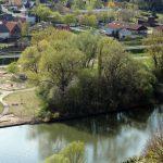 Neuer Badestrand in Goßmannsdorf am Main - Foto vom 14. April 2020