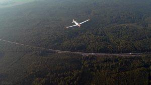 Luftüberwachung wegen Waldbrandgefahr