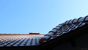 Reif auf unserem Hausdach am 12. Mai 2020 um 07:35 Uhr