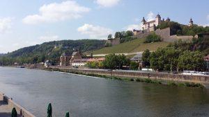 Würzburg am Main am 14. Mai 2020