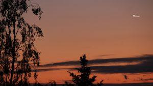 Merkur am 16. Mai 2020 um 21:36 Uhr am NW-Horizont von Eisingen
