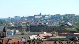 Residenz in Würzburg am 18. Mai 2020