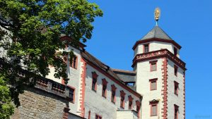 Marienturm der Festung Marienberg in Würzburg