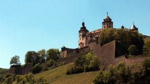 Festung Marienberg am 18. Mai 2020