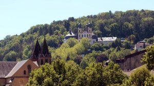 St. Burkard und Käppele in Würzburg am 18. Mai 2020