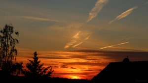 Sonnenuntergang am 26. Mai 2020 um 21:10 Uhr