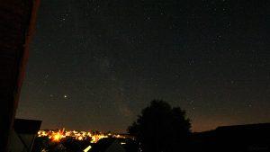 Saturn und Jupiter am 29. Mai 2020 um 03:04 Uhr am Südhimmel von Eisingen