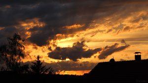 Wetterbild aus Eisingen vom 6. Juni 2020 um 21:07 Uhr
