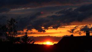Sonnenuntergang am 6. Juni 2020 um 21:15 Uhr