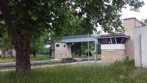 Schleuse Goßmannsdorf am 10. Juni 2020