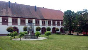 Klosterhof in Tückelhausen bei Ochsenfurt am 22. Juni 2020