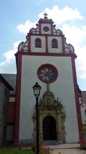 Klosterkirche in Tückelhausen bei Ochsenfurt am 22. Juni 2020