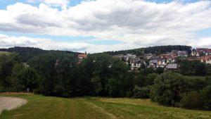 Wetterbild aus Holzkirchen im Lkr. Würzburg am 7. Juli 2020 um 14:56 Uhr