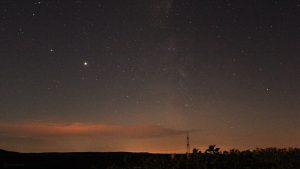 Jupiter und Saturn am 12. Juli 2020 um 02:23 Uhr