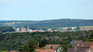 Blick von Eisingen nach Hettstadt